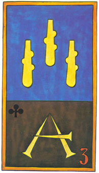 Карты таро тройка жезлов перевернутая гадание карты таро на рамблере